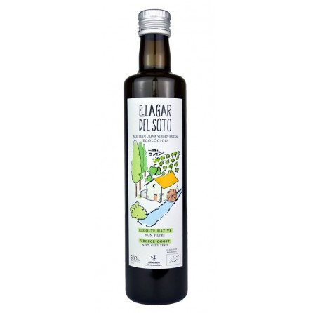 BiO El Lagar del Soto Premium Glass Bottle 500 ml / Box: 4 unit x 500ml