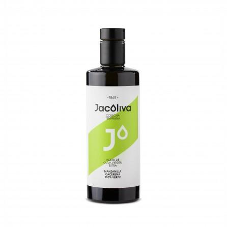 Jacoliva AOVE Monovarietal Manzanilla Cacereña Cristal 500ml