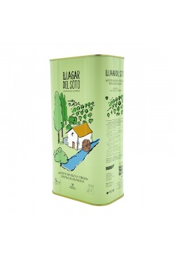 El Lagar del Soto Classic Organic Can 5 Liters / Box: 3 unit x 5L