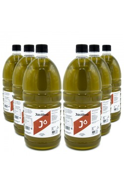 EVOO Jacoliva P.E.T 2 liters / Box: 6 unit x 2L