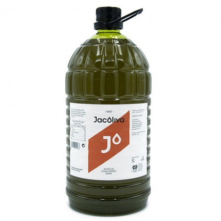 EVOO Jacoliva P.E.T 5 Liters / Box: 3 unit x 5L