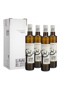El Lagar del Soto Premium BiO Cristal 500 ml / Caja: 4 unid x 500ml