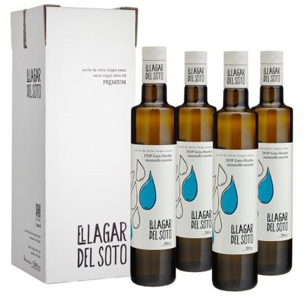 El Lagar del Soto Premium D.O.P Gata-Hurdes Cristal 500 ml / Caja: 4 unid x 500ml